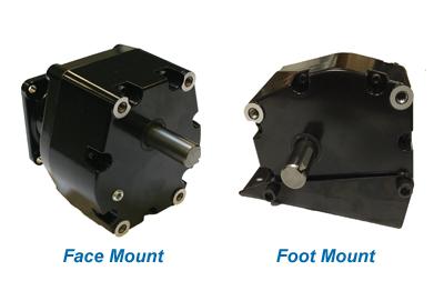 881 NEMA 56C Parallel Shaft Gear Reducer