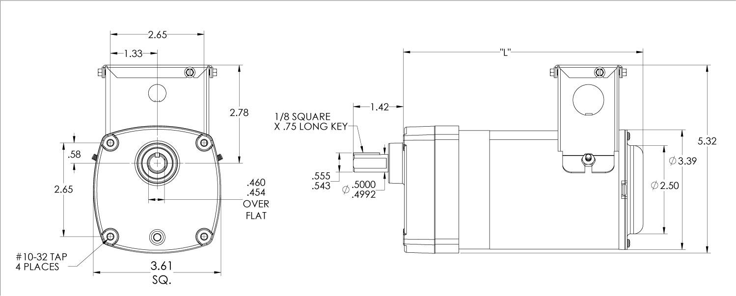 Bison Gear 012 175c0013 Printable Specifications Nema 10 50 Wiring Diagram Schematics Diagrams
