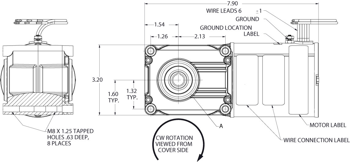 Bison Gear 026 712e0240 Printable Specifications