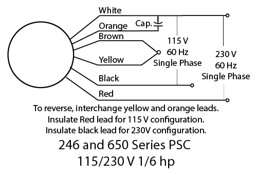 230v wiring diagram in malaysia 1972 nova wiring diagram in color schematic 650 series ac psc 115/230v